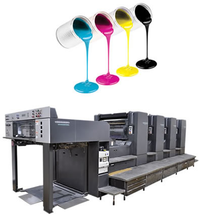 オフセット印刷イメージ